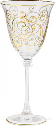 Набір бокалів для вина Florence 160 мл 6 шт. золото Combi
