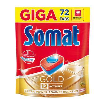 Таблетки для мытья посуды Somat в посудомоечной машине , 72шт