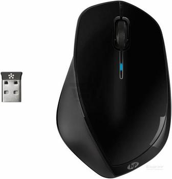 Миша HP x4500 Wireless Metal Black Mouse (H2W26AA)