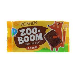 Печиво Roshen Zoo-boom какао 68г