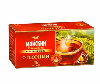 Чай чорний Майський Класичний Індійський 25пак