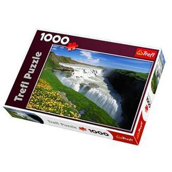 Пазл Золотые водопады Исландия Trefl (10314)