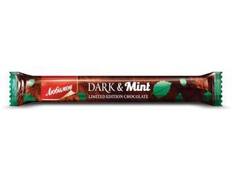 Шоколадний батончик, Любимов, з начинкою, 38г
