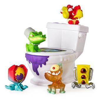 Ігровий набір Flush Force Огидна туалетна кімната