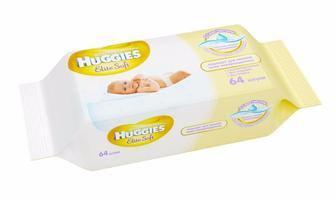 Салфетки влажные Huggies Natural Care №56/Natural Care №56/Huggies Пъюр №56
