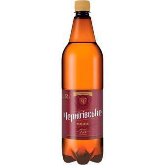 Пиво міцне Чернігівське 2л