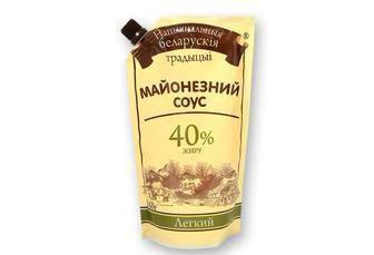 Майонезний соус легкий 40% Білоруські традиції, 640 г