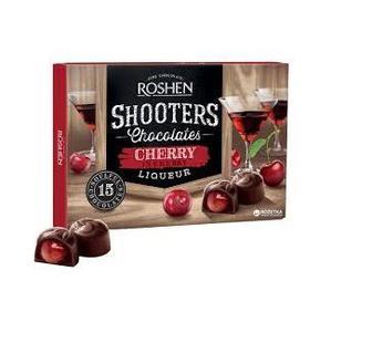Цукерки Shooters вишня з вишневим лікером 150г Рошен