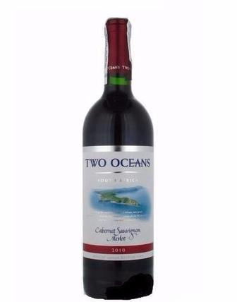 Вино Two Oceans Cabernet-Merlot 0.75л