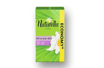 Прокладки гігієнічні іUltra Camomile Normal, 20 шт. Ultra Camomile Maxi, 16 шт.  Naturella