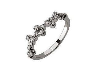 Золотое кольцо с бриллиантами Артикул 01-17441107
