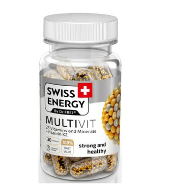 Витамины Swiss Energy MultiVit капсулы №30