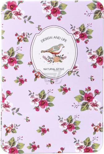 Блокнот Квіти рожевий