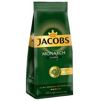 Кава мелена Класік ТМ Jacobs Monarch 225г