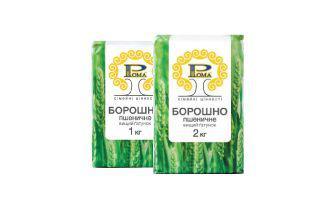 Борошно пшеничне вищого гатунку Рома 1кг, 2кг