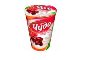 Йогурт живий, 2,5%, Чудо, 300г