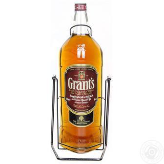 Виски Grant's Family Reserve 40% 0.5л