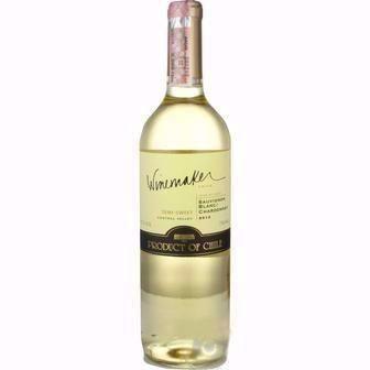 Вино Шардоне біле сухе, Мерло червоне сухе Вайнмейкер 0,75л