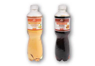 Напій Лимонад/Кола, сильногазований Розумний Вибір 0,5 л