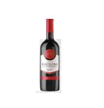 Вино біле або червоне сухе  Barcelona 0.75 л