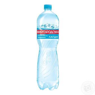 Вода мінеральна Лагідна слабогазована Миргородська 1,5 л