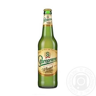Пиво світле Старопрамен 0,5л