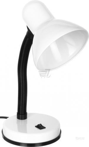 Настільна лампа офісна Accento lighting 1x40 Вт E27 білий ALYU-DE4030-WH