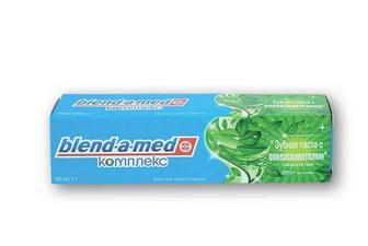 Зубна паста комлекс з ополіскувачем, свіжість трав, м'ята та тим'ян Blend-a-Med 100 мл