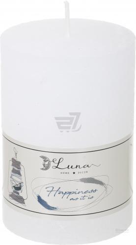Свічка Hygge циліндр біла 70х100 Luna Luna