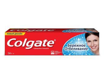 Паста зубна Colgate «Дбайливе відбілювання» 100мл