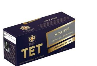 Чай чёрный «Лорд Грей», ТЕТ, 25пак
