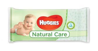 Серветки вологі Huggies Natural Care, 56шт/уп