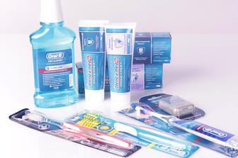 Уход за полостью рта с Blend-a-Med и Oral-B