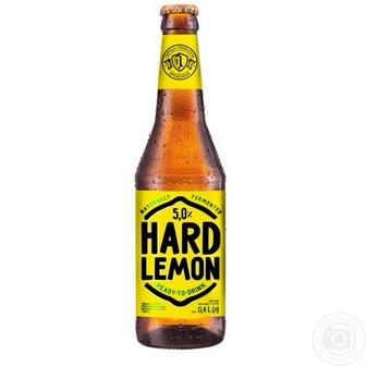 Пиво Хард лимон, цитрус Перша Приватна Броварня 0,4 л