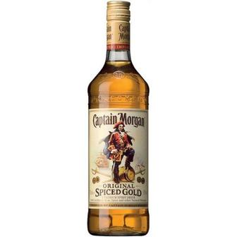 Скидка 35% ▷ Ром Spiced Gold Captain Morgan 0,5л