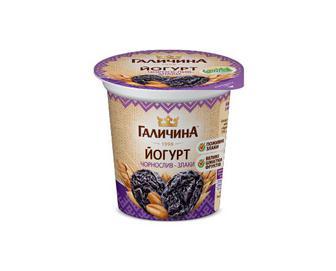 Йогурт «Галичина» чорнослив-злаки 2,5% жиру, 280 г
