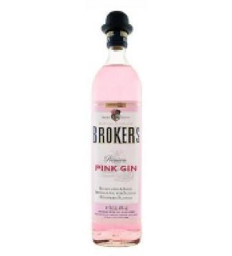 Брокерский розовый джин 0,7 л 40,00%
