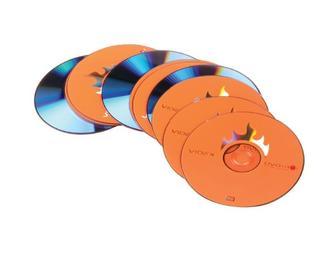 Набор дисков DVD R, 4,7 Gb, 10 шт