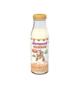 Йогурт 2,5% Яготинське  для дітей 200г