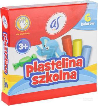 Пластилін 6 кольорів 83811909 Astra