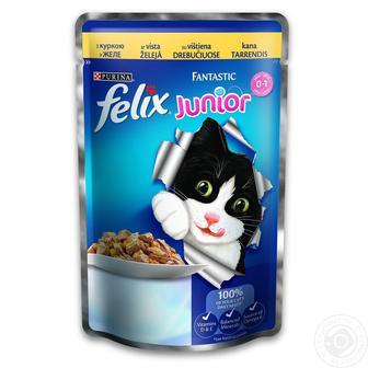 Корм для котів FELIX 100г