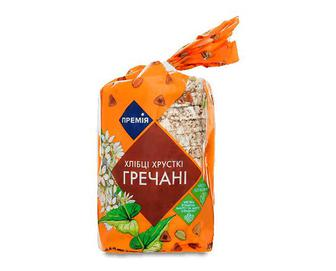 Хлібці «Премія»® гречані, 100г