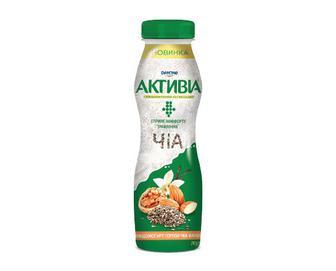 Біфідойогурт «Активіа» 1,5% жиру горіхи-чіа-ваніль, 290г