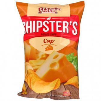 Чипсы Flint Chipster's Сыр 70 г