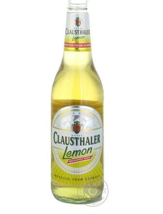 Пиво безалкогольне Clausthaler Lemon 0,33л