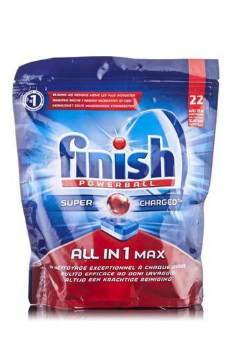 Таблетки для посудомийних машин Finish Powerball All in 1 Max без фосфатні 22шт