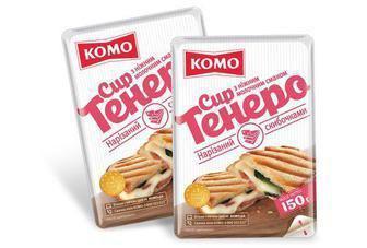 Сир напівтвердий 50%, Комо, 150 г, Тенеро