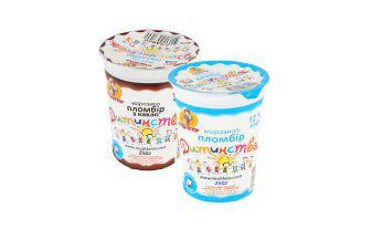 Морозиво Пломбір дитинства ванільне, какао Мушкетер 250 г