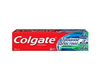 Паста зубна Colgate Triple Action, 100мл