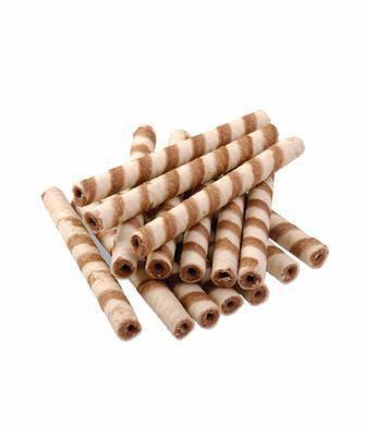 Вафельні Трубочки молочні/ з какао Бісквіт-шоколад 1 кг